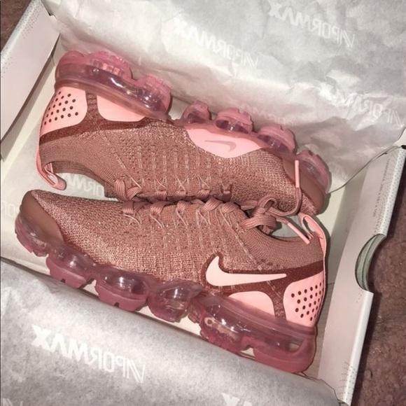 Nike Shoes | Rust Pink Vapormax | Poshmark